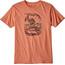 Patagonia Nut vs. Piton Organic Shortsleeve Shirt Men orange